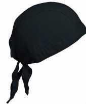 Kariban dames bandana zwart trend