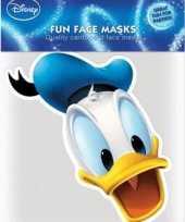 Kartonnen masker donald duck trend