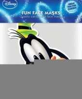 Kartonnen masker goofy trend
