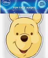 Kartonnen masker winnie de pooh trend