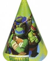 Kartonnen ninja turtles hoedjes trend