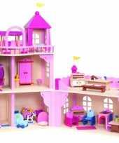 Kasteel poppenhuis voor meiden trend