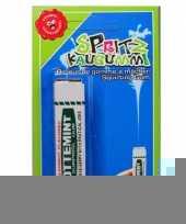 Kauwgom met waterspuit trend