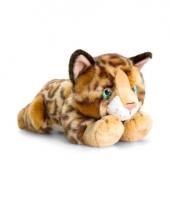 Keel toys pluche bengaalse katten poezen knuffel 30 cm trend