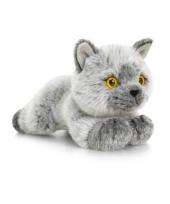 Keel toys pluche britse korthaar katten poezen knuffel 30 cm trend
