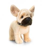 Keel toys pluche franse bulldog hond knuffel 40 cm trend