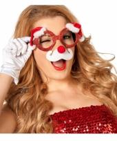 Kerst bril met neus trend