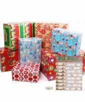 Kerst cadeaus inpakken set maat m trend