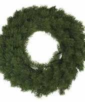 Kerst decoratie krans 30 cm trend