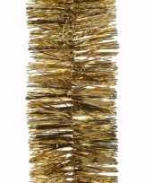 Kerst gouden folieslinger chique christmas 270 cm trend 10097981
