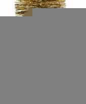 Kerst gouden folieslinger christmas gold 270 cm trend 10097979