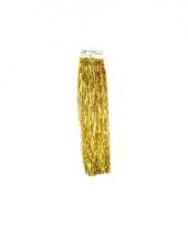 Kerst gouden folieslinger rand 50 cm trend