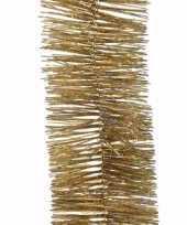 Kerst gouden folieslinger sweet christmas 270 cm trend