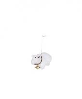 Kerst hangdecoratie ijsbeer 8 cm type 5 trend