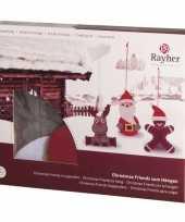 Kerst hangdecoraties knutselen trend