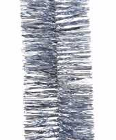 Kerst ijsblauwe folieslinger elegant christmas 270 cm trend
