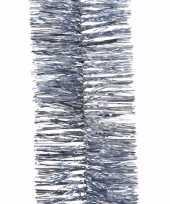 Kerst ijsblauwe folieslinger mystic christmas 270 cm trend
