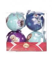 Kerst kerstballen frozen 4 stuks trend