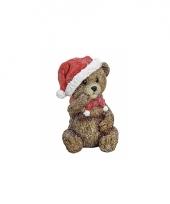 Kerst kerstbeer beeldje 12 cm trend