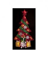 Kerst kerstboom met led verlichting 74 cm trend