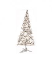 Kerst kerstboom van houten takken 55cm trend