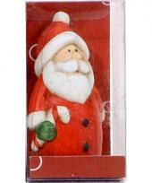 Kerst kerstman decoratie met jasje 7 cm trend