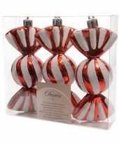 Kerst ophang snoepjes 3 stuks 11 cm trend