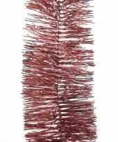Kerst oud roze folieslinger sweet christmas 270 cm trend