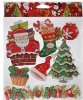 Kerst raamstickers type 4 trend