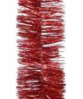 Kerst rode glitter folieslinger elegant christmas 270 cm trend