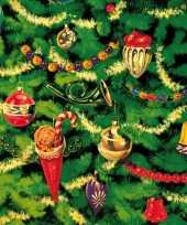Kerst servetten kerstboom thema trend 10098798