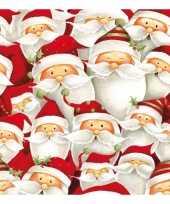 Kerst thema servetten 20 stuks trend