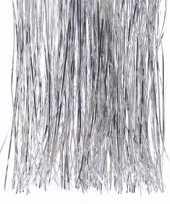 Kerst zilveren folieslierten elegant christmas 40 x 50 cm trend