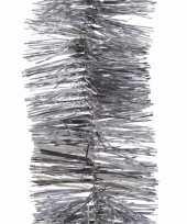 Kerst zilveren folieslinger mystic christmas 270 cm trend