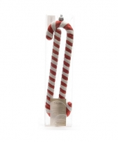 Kerst zuurstokjes 2 stuks 24 cm trend