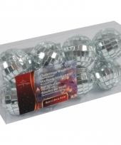 Kerstballen met spiegeltjes 4 cm trend