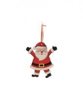 Kerstboom decoratie kerstman 12 cm trend 10075034