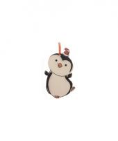 Kerstboom decoratie pinguin 12 cm trend 10075031