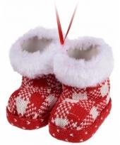 Kerstboom decoratie schoentjes hanger type 6 trend