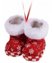 Kerstboom decoratie schoentjes hanger type 7 trend
