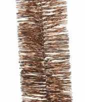 Kerstboom folie slinger brons 270 cm trend