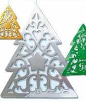 Kerstboom kerst decoratie 50 cm trend