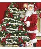 Kerstdiner servetten 20 stuks trend