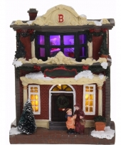Kerstdorp maken kersthuisje met led licht type 3 trend