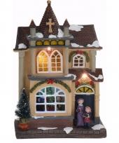 Kerstdorp maken kersthuisje met led licht type 4 trend