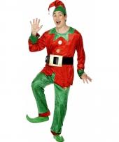 Kerstelf pakken voor volwassenen trend