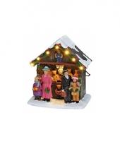 Kersthuisje beren kraampje trend