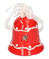 Kerstklokje rood decoratie trend