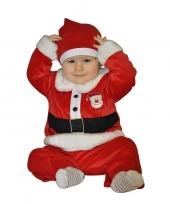 Kerstman kostuum voor babies 1 2 jaar trend