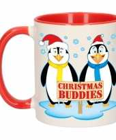 Kerstmis mok christmas buddies 300 ml trend